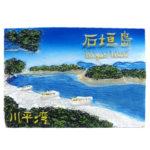 石垣島を身近に感じる「石垣島 2.5Dポリマグネット」