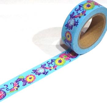 水色のマスキングテープ