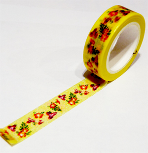 南国の花 マスキングテープ