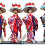 立ち姿が美しい!「沖縄 琉球舞踊人形」ご当地ソフビフィギュア