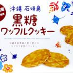 石垣島 黒糖ワッフルクッキー